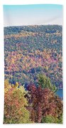 Autumn Mountain Beach Towel