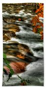 Autumn On The River Beach Sheet