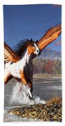 Autumn Pegasus Beach Sheet