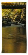 Autumn Reflections In Tennessee Beach Towel
