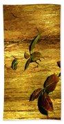 Autumn Rust Beach Towel