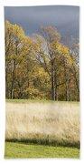 Autumn Skies Canaan Valley Of West Virginia Beach Towel