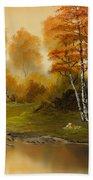 Autumn Splendor Beach Towel by C Steele