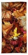 Autumn Splendour Beach Towel