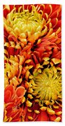 Autumn Sunrise Bouquet Beach Towel