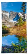 Autumn Tarn Beach Towel