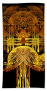 Autumn Tree Beach Towel by Sandy Keeton