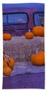 Autumn Truck Beach Towel