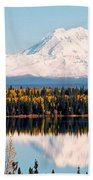 Autumn View Of Mt. Drum - Alaska Beach Towel