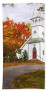 Autumn Worship Beach Towel