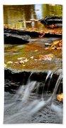Autumnal Serenity Beach Towel
