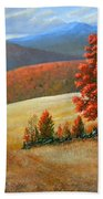 Autumns Glory Beach Towel