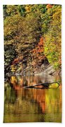 Autumns Glow Beach Towel