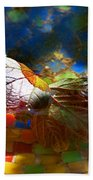 Autumns Mosaic Beach Towel