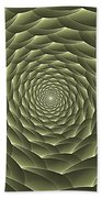 Avacado Vertigo Vortex Beach Towel