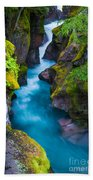 Avalanche Creek Beach Towel