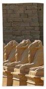 Avenue Of Sphinxes Beach Towel