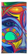 Awakening To Thy True Self Beach Towel by Daina White