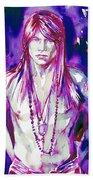 Axl Rose Portrait.3 Beach Towel