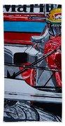Ayrton Senna Monaco 93 Beach Towel