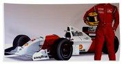 Ayrton Senna Beach Sheet