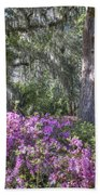 Azalea In Bloom Beach Towel