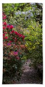 Azalea Trail Beach Towel