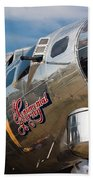 B-17 Flying Fortress Beach Towel
