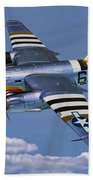 B-26b Marauder Beach Towel
