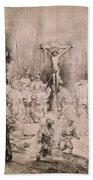 The Three Crosses, Circa 1660 Beach Towel