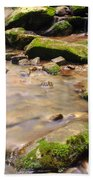 Babbling Brook Beach Towel