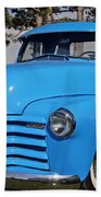 Baby Blue Chevy From 1950 Beach Towel