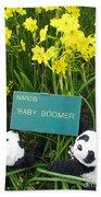 Baby Boomers Beach Sheet