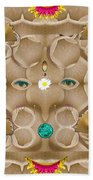 Baby Lord Ganesha Beach Towel