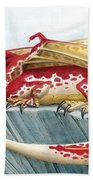 Baby Scarlet Spotted Dragon Beach Towel