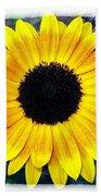 Back Forty Sunflower Beach Towel