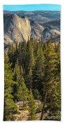 Backroads Of Yosemite Beach Towel