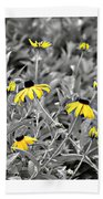 Backwoods Escape Triptych Beach Towel