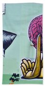 Bad Thoughts Beach Towel