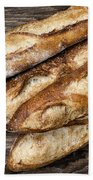 Baguettes Bread Beach Towel