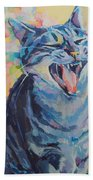Bah Humbug Beach Towel by Kimberly Santini