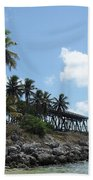 Bahi Bridge Beach Towel