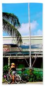 Bait And Tackle Key West Beach Towel