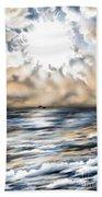 Bajan Sundays Beach Towel