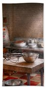Baker - Kitchen - The Commercial Bakery  Beach Towel by Mike Savad