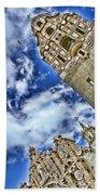Balboa Park's California Tower By Diana Sainz Beach Towel