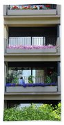 Balconies 4 Beach Towel