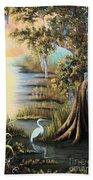 Bald Cypress Beach Towel