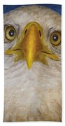 Bald Eagle 4 Beach Towel