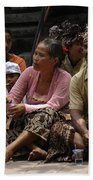 Bali Indonesia Proud People 3 Beach Towel
